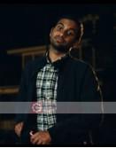 30 Minute Or Less Aziz Ansari (Chet) Cotton Jacket