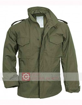 30 Minute Or Less Jesse Eisenberg (Nick) Cotton Jacket