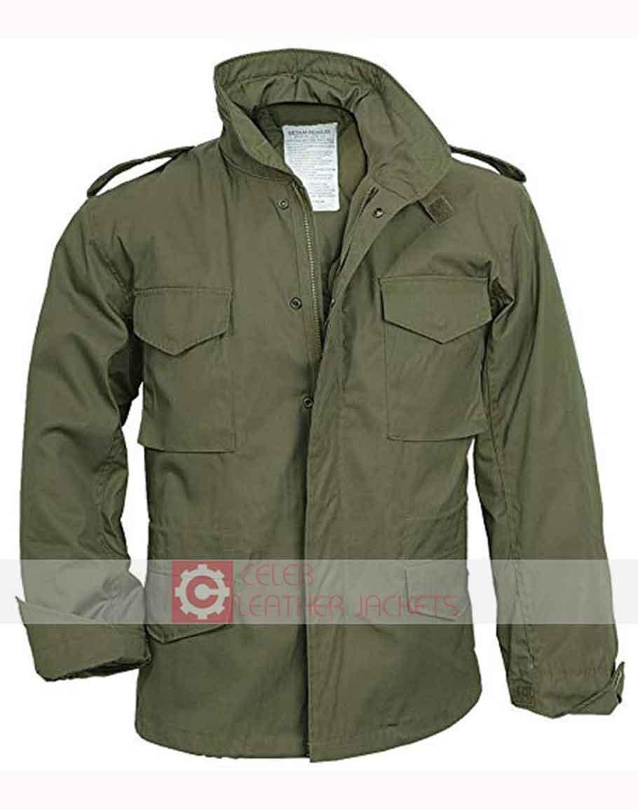Jesse Eisenberg Jacket | Nick 30 Minute Or Less Green Jacket