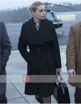 A Most Wanted Man Nina Hoss (Irna Frey) Trench Coat