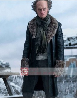 A Series Of Unfortunate Events Neil Patrick (Count Olaf) Leather Coat