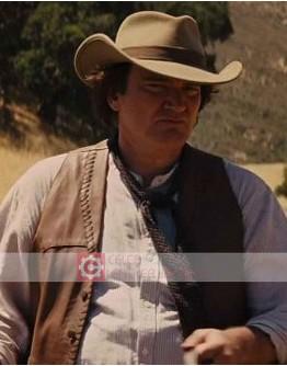 Django Unchained Quentin Tarantino (Robert) Leather Vest