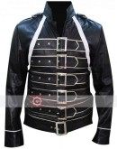 Freddie Mercury Costume Leather Jacket