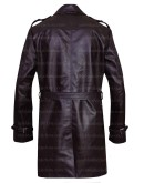 Sweeney Todd Johnny Depp Costume Leather Coat