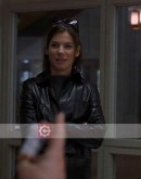 28 Days Sandra Bullock Trench Leather Coat