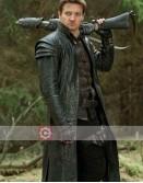 Hansel & Gretel Witch Hunters Jeremy Renner Leather Coat