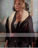 The Walking Dead Laurie Holden Shearling Leather Vest