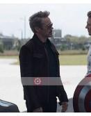 Avengers Endgame Robert Downey Jr Leather Jacket