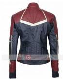 Captain Marvel Carol Danvers Costume Leather Jacket