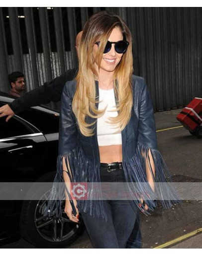 Cheryl Cole Crazy Stupid Love Fringe Jacket