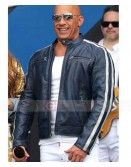 Fast and Furious 9 Vin Diesel Concert Leather Jacket