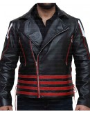 Freddie Mercury Arrow Black And Red Jacket