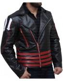 Freddie Mercury Arrow Black And Red Jacket