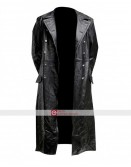 GERMAN PEA COAT Black Men's Classic Officer Military Jacket