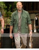 Hobbs And Shaw Jason Statham Green Jacket