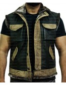 Jumanji The Next Level Dwayne Johnson Leather Vest