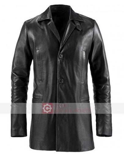 Max Payne Mark Wahlberg Leather Coat