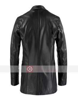 Max Payne Mark Wahlberg Leather Coat