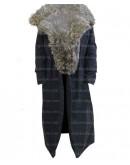 Peaky Blinders Sophie Rundle Fur Collar Coat
