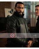 Power Omari Hardwick Black Leather Jacket
