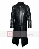 The Punisher Thomas Jane Black Leather Coat