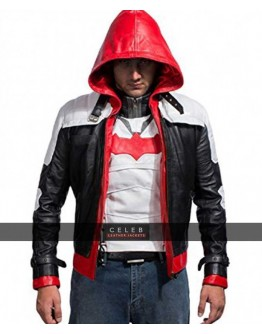 Arkham Knight Red Hood PU Leather Jacket & Vest