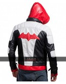 Arkham Knight Red Hood PU Leather Jacket & Vest