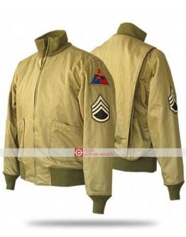 Fury Brad Pitt Bomber WW2 Jacket