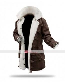 Bane Swedish Bomber Shearling Leather Jacket