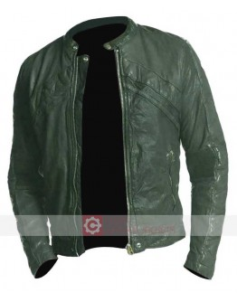 American Heist Adrien Brody Leather Jacket