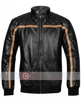 Battlefield Hardline Nick Mendoza Leather Jacket