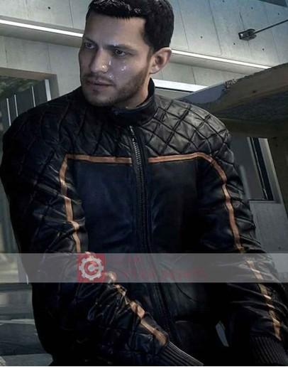 Battlefield Hardline Nick Mendoza Leather Jacket