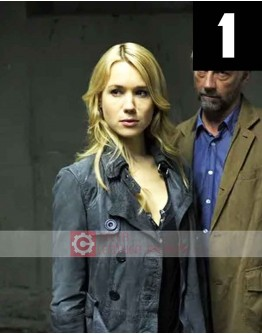 Being Human Kristen Hager Grey Jacket