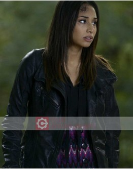 Being Human Meaghan Rath Leather Jacket