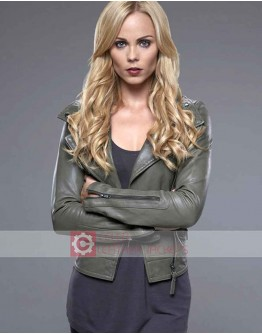 Bitten Laura Vandervoort Leather Jacket