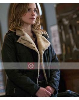 Chicago P.D Sophia Bush Shearling Jacket
