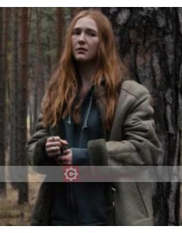 Dark Gina Stiebitz Shearling Jacket
