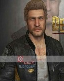 Dead Rising 3 Chuck Greene Black Leather Jacket