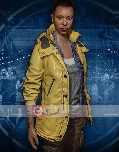 Dead Rising 4 Kylie Jane Yellow Leather Jacket