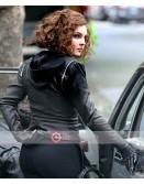 Gotham Camren Bicondova Black Leather Jacket