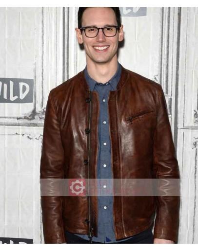 Gotham Cory Michael Smith Leather Jacket