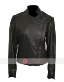 Gotham Jessica Lucas Biker Leather Jacket