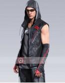 Mirror's Edge Icarus Catalyst Hoodie Leather Vest
