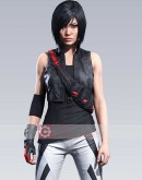 Mirror's Edge Kate Connors Leather Vest