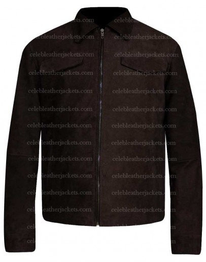 Avengers Endgame Robert Downey Jr. Suede Leather Jacket