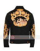 Bad Boys for Life Will Smith Black Jacket With Patches