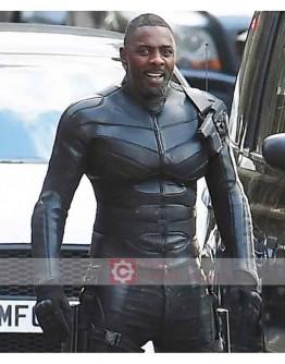Hobbs And Shaw Idris Elba Leather Jacket