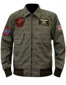 Top Gun 2 Maverick Tom Cruise Aviator Jacket