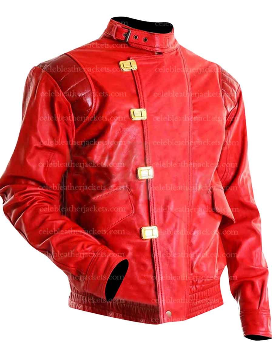 Akira Kaneda Jacket Akira Red Pill Leather Jacket