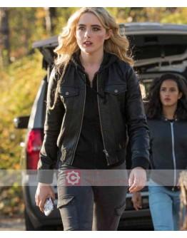 Supernatural Kathryn Newton Leather Jacket